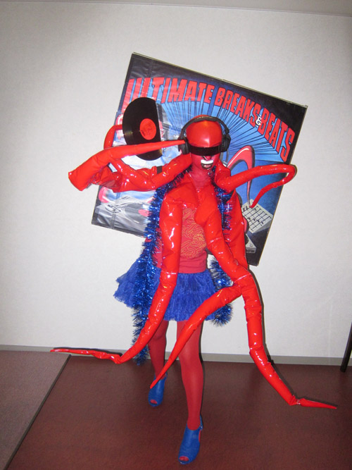 DJ Sarasa - UBB Hip Hop Halloween Costume