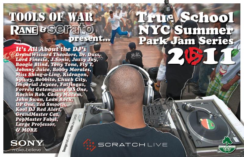 2011 Tools of War Summer Park Jam Flyer Version