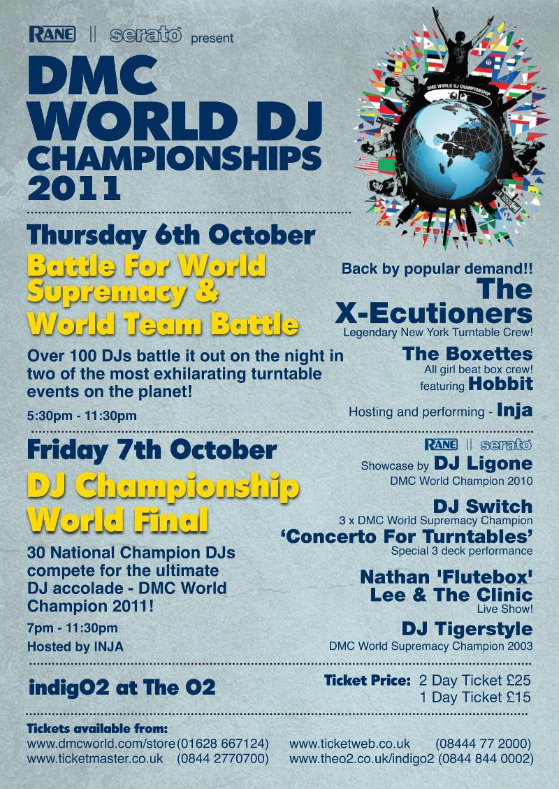 2011 DMC World Finals - Oct. 6 + 7