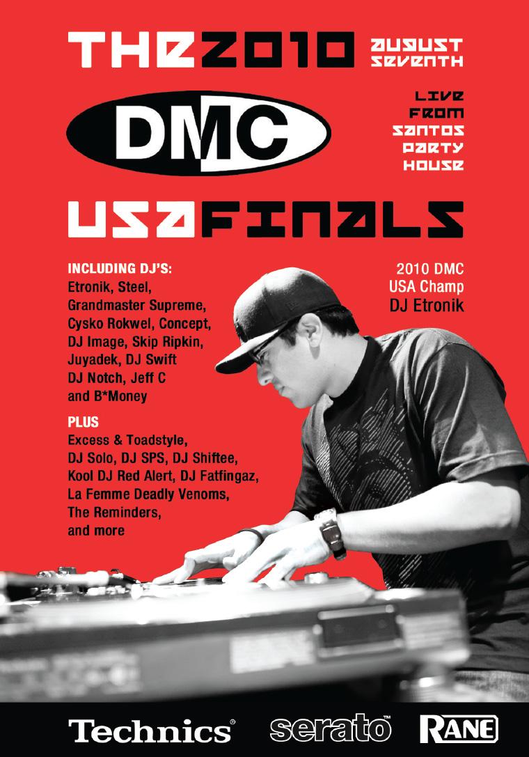 2010 DMC US Finals Cover