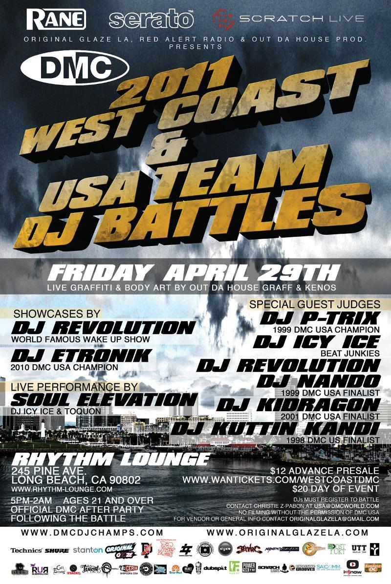 April 29: DMC West Coast