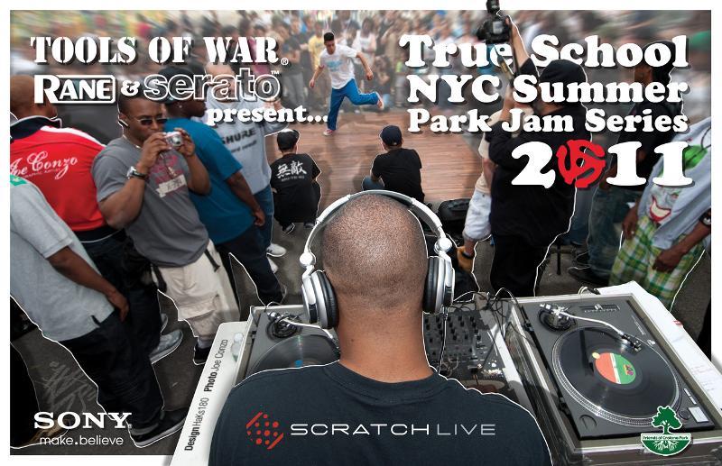 2011 Tools of War True School NYC Summer Park Jams