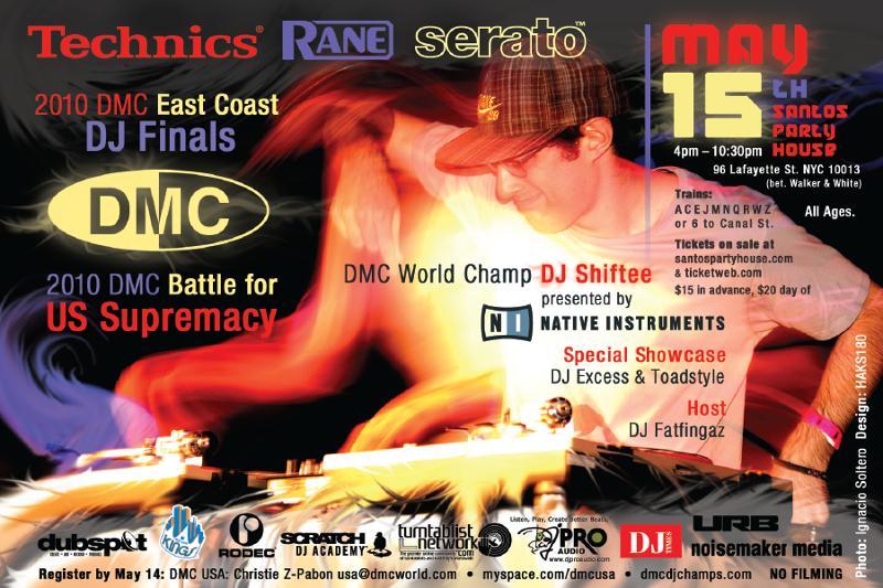 May 15: DMC East  Coast + Supremacy
