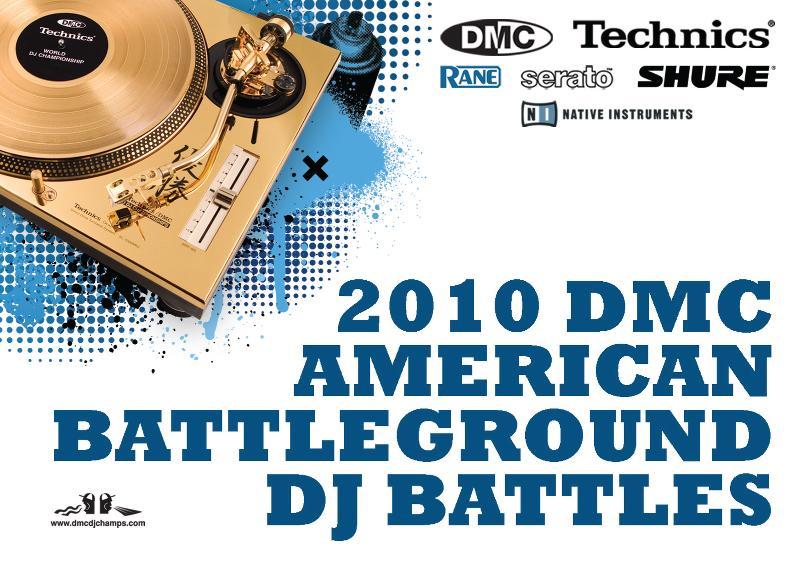 2010 DMC US  Finals  Tour Flyer by Martin X