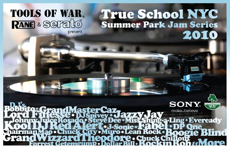 2010  Tools of War grassroots Hip Hop True School NYC Park Jams!