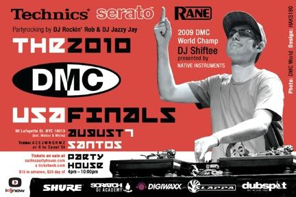 2010 DMC US Finals flyer by Haks 180