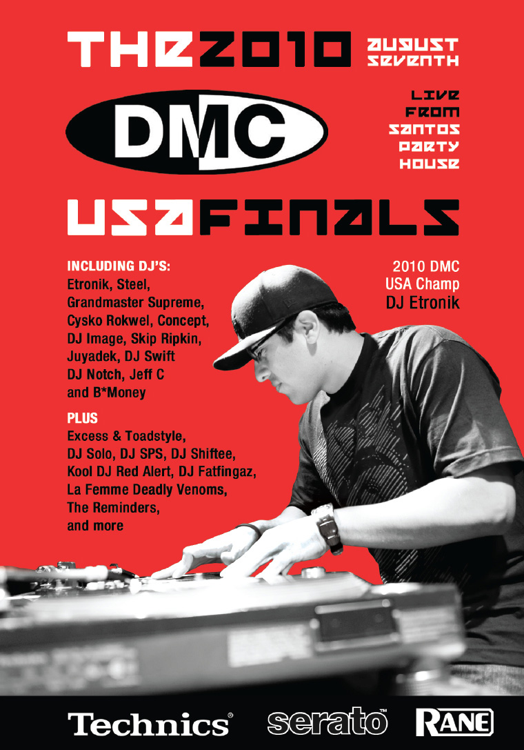 2010 DMC US Finals Cover
