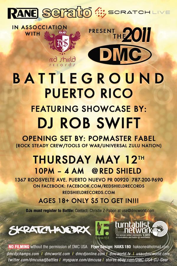 May 12 DMC Puerto Rico @ Red Shield!