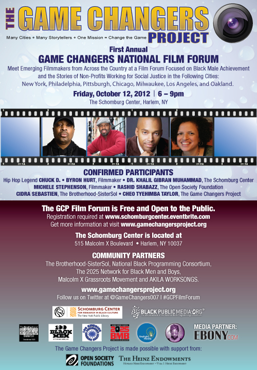Game Changers Film Forum