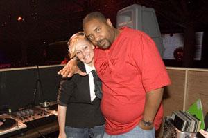 Sir Mix-A-Lot and DJ Girl 6