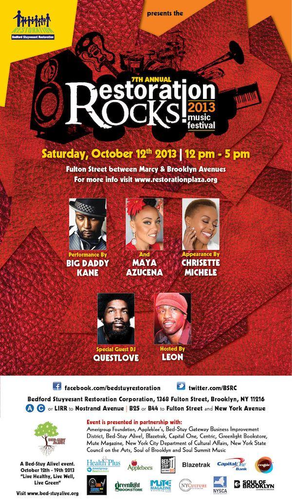 Restoration Rocks! 2013