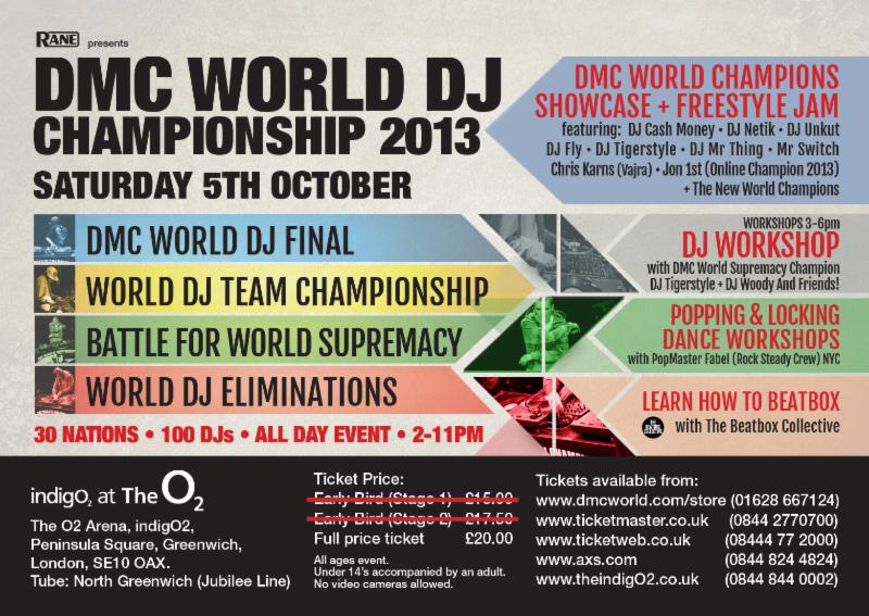 DMC DJ World Championship 2013