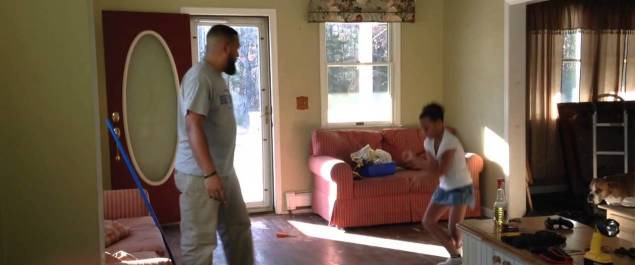 Daddy Daughter Hip Hop Dance Battle
