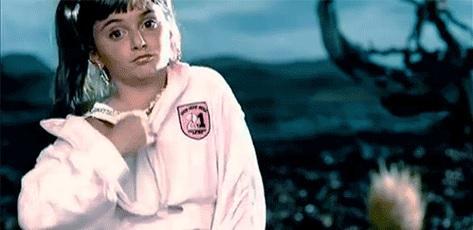 Alyson Stoner in missy elliot video